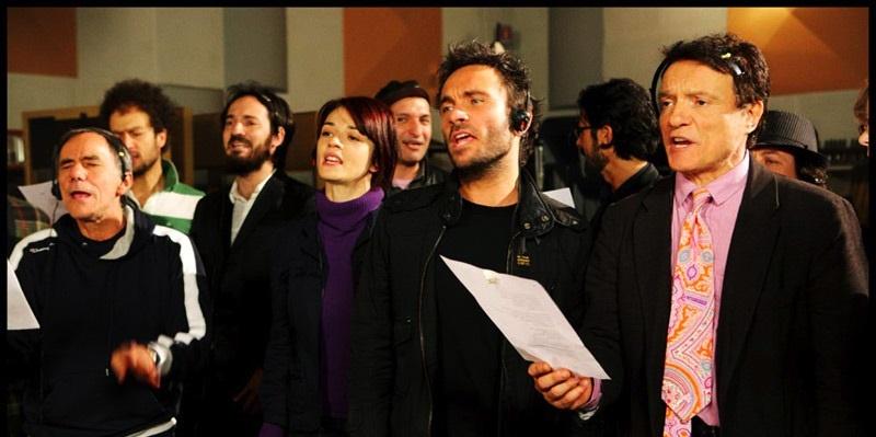 Domani Artisti uniti per l'Abruzzo Testo Accordi per Chitarra