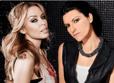 Laura Pausini Kylie Minogue
